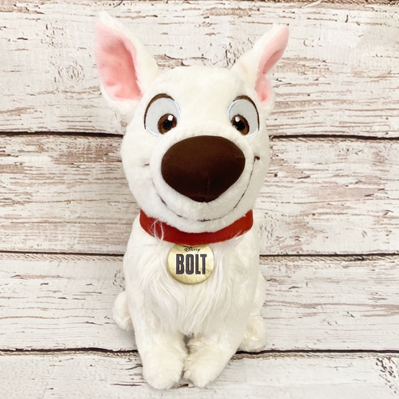 Disney Other Bolt Puppy Dog Plush Poshmark
